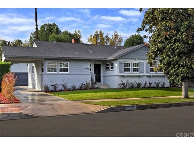 Tarzana Single Family Home For Sale: 19426 Calvert Street