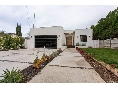Tarzana Single Family Home For Sale: 5804 Donna Avenue