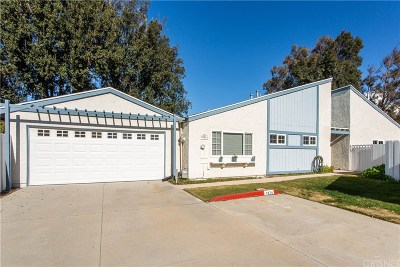 Simi Valley Single Family Home For Sale: 2474 Stow Street