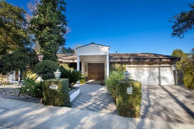 Encino Single Family Home Active Under Contract: 3965 Sapphire Drive
