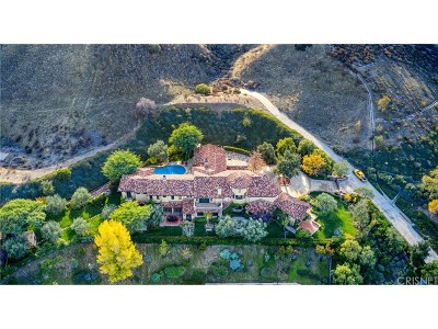 Valencia CA Single Family Home For Sale: $4,399,900