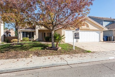 Palmdale Single Family Home For Sale: 39810 Guita Court
