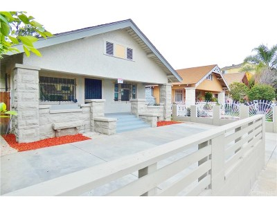 Los Angeles Single Family Home For Sale: 232 West 52nd Street