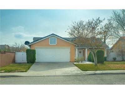 Palmdale Single Family Home For Sale: 1760 High Vista Avenue