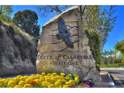 Calabasas Condo/Townhouse For Sale: 23401 Park Sorrento #51