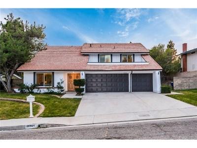 Porter Ranch Single Family Home For Sale: 11701 Pala Mesa Drive