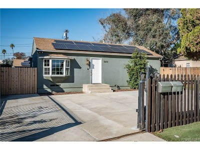 North Hollywood Single Family Home For Sale: 5633 Riverton Avenue