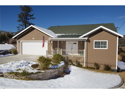 Frazier Park Single Family Home For Sale: 8921 Deer Trails
