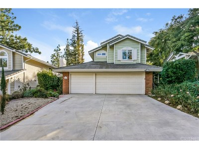 West Hills Single Family Home For Sale: 23206 West Vail Drive