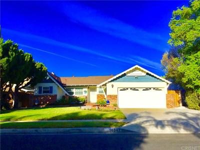 Granada Hills Single Family Home For Sale: 10347 Wish Avenue