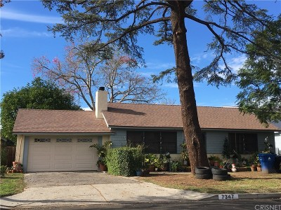 Reseda Single Family Home For Sale: 7347 Garden Grove Avenue