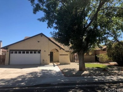 Lancaster Single Family Home For Sale: 1206 Morven Street