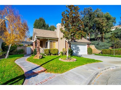 Valencia Single Family Home For Sale: 23903 Clearmont Court