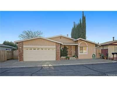 Castaic Single Family Home Active Under Contract: 31951 Cinnabar Lane