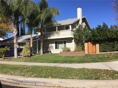 Newhall Single Family Home For Sale: 24700 Fourl Road