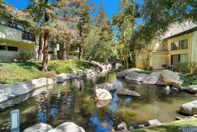 Agoura Hills Condo/Townhouse For Sale: 5736 Skyview Way #G
