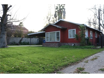 Los Angeles County Single Family Home Active Under Contract: 5849 Donna Avenue