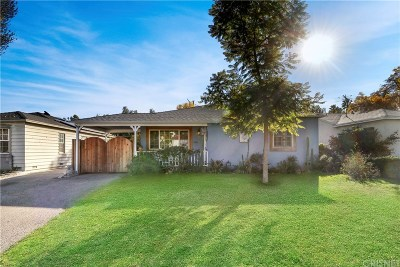 Studio City Single Family Home For Sale: 11122 Landale Street