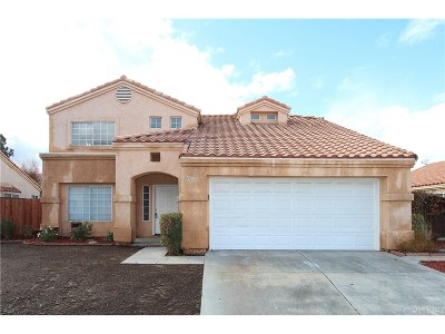 Palmdale Single Family Home For Sale: 37705 Cardiff Street