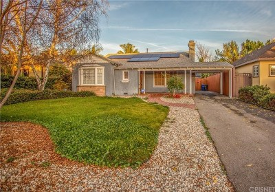Studio City Single Family Home For Sale: 4534 Simpson Avenue