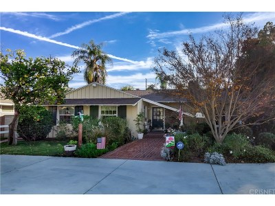Northridge Single Family Home For Sale: 17456 Sunburst Street