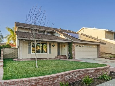 Los Angeles County Single Family Home For Sale: 27547 Caraway Lane