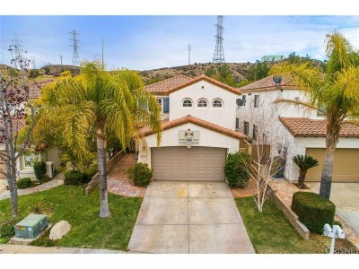 Valencia CA Single Family Home For Sale: $638,400