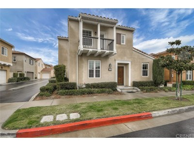 Los Angeles County Single Family Home Active Under Contract: 11511 Ghiberti Way