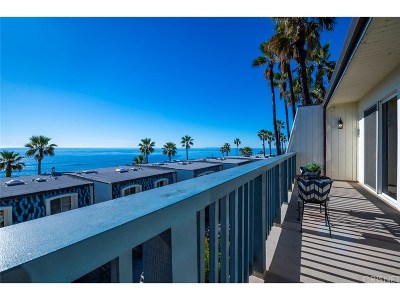 Malibu Condo/Townhouse For Sale: 11928 Whalers Lane