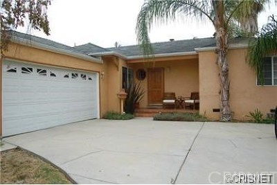 Reseda Single Family Home For Sale: 6639 Bovey Avenue