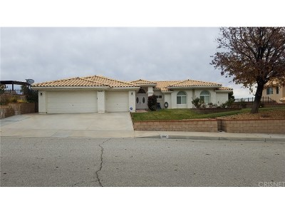 Palmdale Single Family Home For Sale: 5067 Claro Way