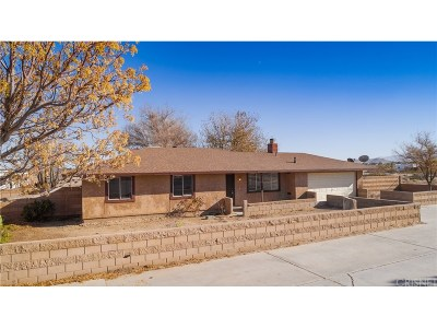 Lancaster Single Family Home For Sale: 41528 159th Street East