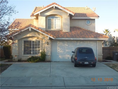 Lancaster Single Family Home For Sale: 1757 East Mesa Drive