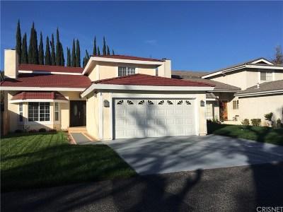 Northridge Single Family Home For Sale: 16711 Parthenia Street #8