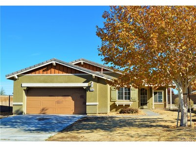 Palmdale Single Family Home For Sale: 37954 67th Street East