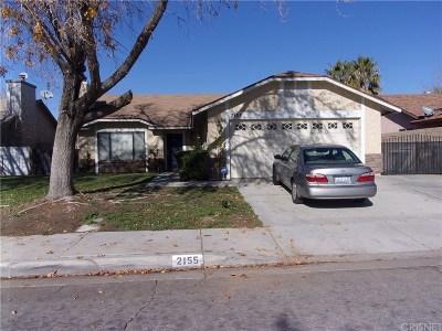 Lancaster Single Family Home For Sale: 2155 West Avenue K15