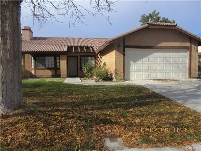 Lancaster Single Family Home For Sale: 44045 Ruthron Avenue