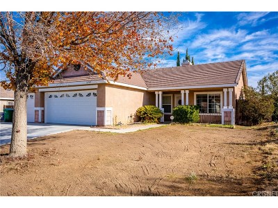 Palmdale Single Family Home For Sale: 36742 Auburn Court