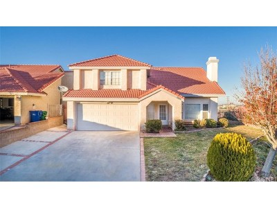 Palmdale Single Family Home For Sale: 1025 Blossom Court