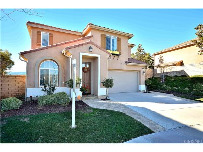 Los Angeles County Single Family Home Active Under Contract: 24312 Spring Leaf Court