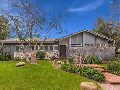 Single Family Home For Sale: 20620 Chatsworth Street