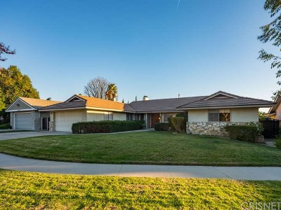 Single Family Home For Sale: 19638 Romar Street