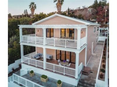 Sherman Oaks Single Family Home For Sale: 14533 Valley Vista Boulevard