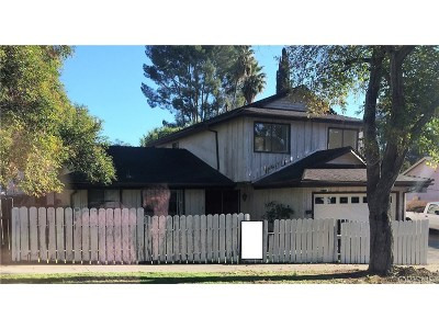 Sylmar CA Single Family Home Pending: $529,000