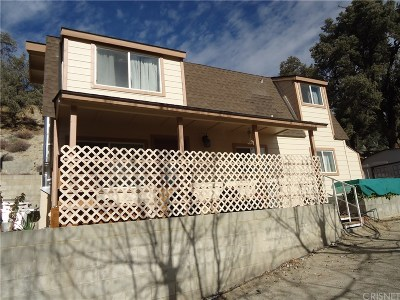 Frazier Park Single Family Home For Sale: 4001 Los Padres Drive