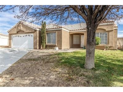 Rosamond Single Family Home For Sale: 3312 Campbell Street