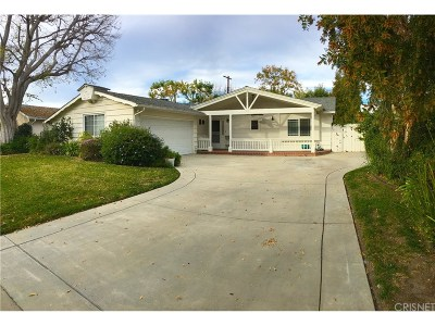 Woodland Hills Single Family Home For Sale: 23521 Styles Street