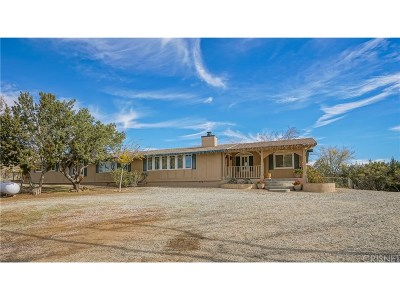 Acton Single Family Home For Sale: 35016 Shannondale Road