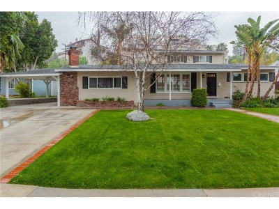 Woodland Hills Single Family Home For Sale: 5127 Catalon Avenue