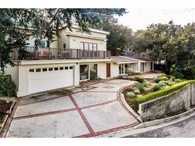 Sherman Oaks Single Family Home For Sale: 3285 Coy Drive